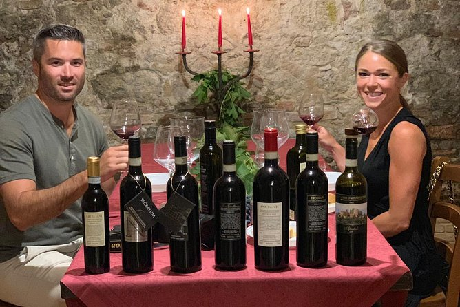 Full-Day Winery Tour in Montepulciano with Tasting and Lunch
