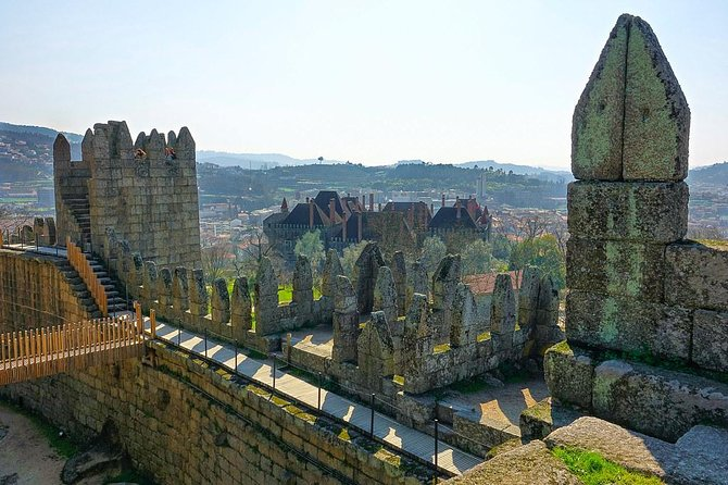 Private 8-hour tour to Braga and Guimaraes from Porto Hotel w/ driver and guide