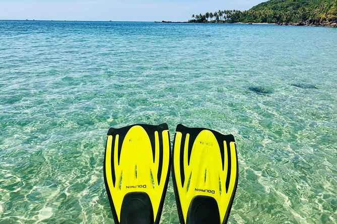 Amazing private snorkeling tour in An Thoi islands by speed boat