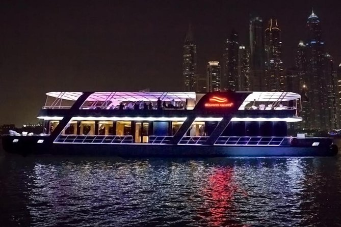 Dubai Marina Glass Cruise With 5* Dinner photo 3