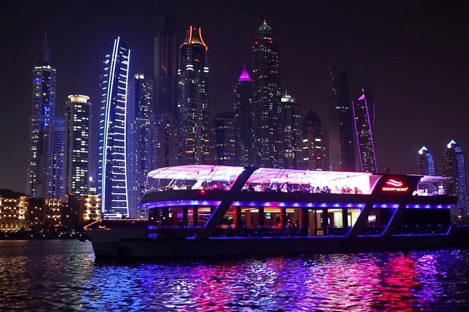 Dubai Marina Glass Cruise With 5* Dinner photo 2