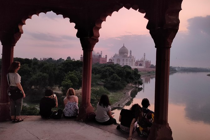 Old City Walk of Agra With Heritage Sunset Walk of Taj Mahal