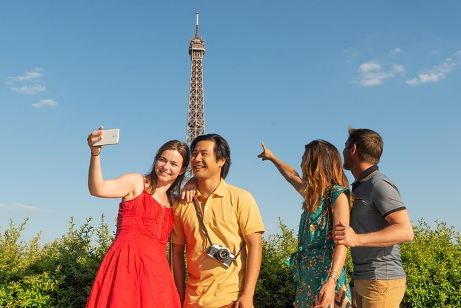 Eiffel Tower Access & Lunch & Optional Summit Ticket