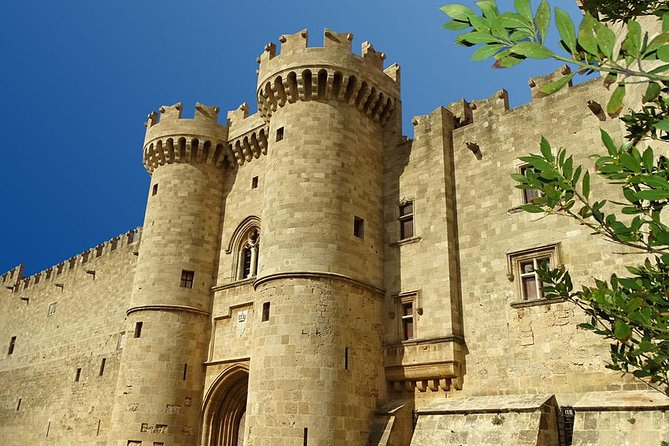RHODES TOWN TOUR FROM SOUTH RHODES - Half Day Private Tour - max 4 people