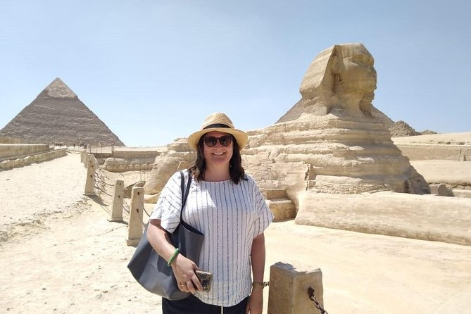 Private Tour to Giza Pyramids , Sphinx & Valley temple with Camel Ride