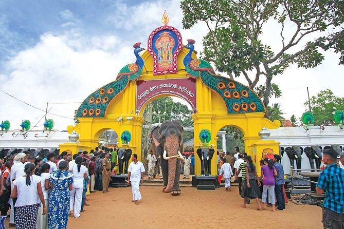 Temple Quest in Southern Sri Lanka from Hambantota Harbor