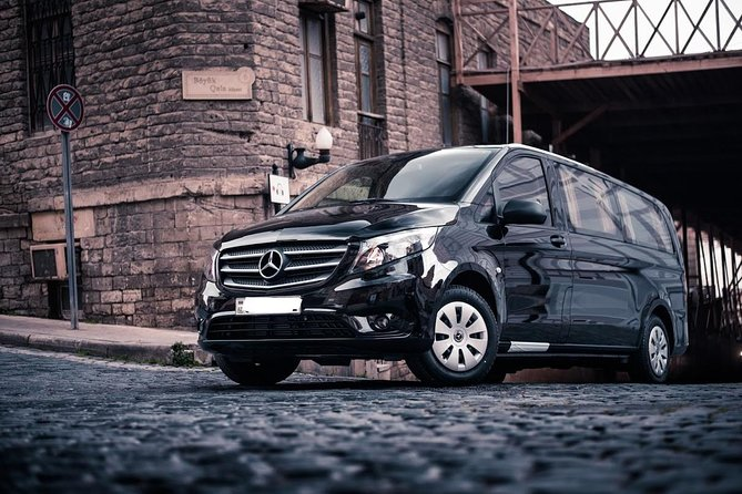 Arrival Private Transfer Baku Airport GYD to Baku City by Luxury Van
