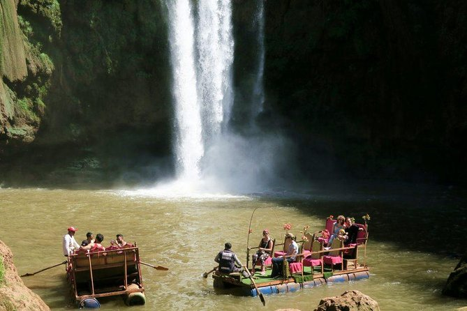 Full-Day Guided Tour to Ouzoud Waterfalls with Boat Ride