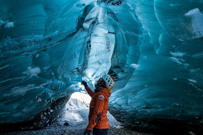 Blue Ice Cave Adventure