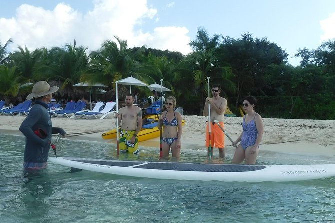 Discover and fall in love with the Paddleboard in Cozumel.