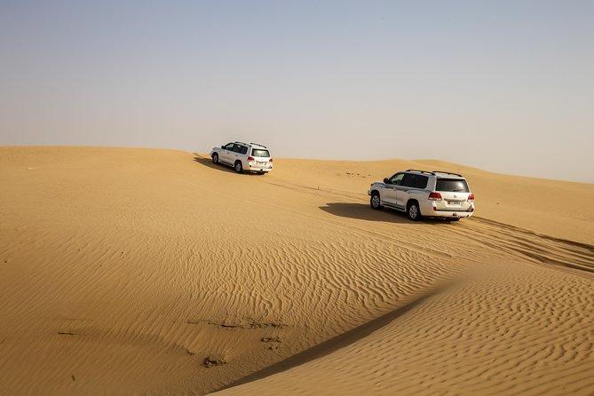 Desert Safari Over Red Dunes Desert