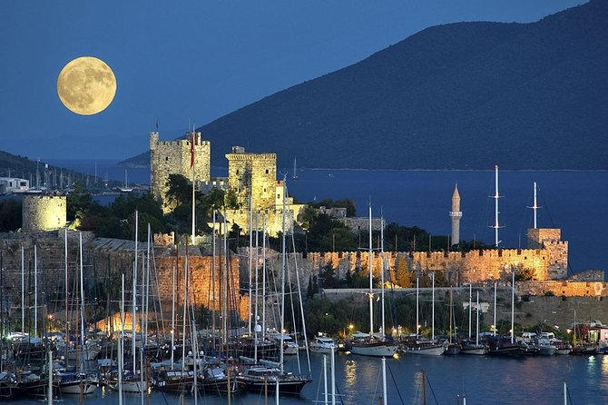 Bodrum Shore Excursion: Private Bodrum Express Sightseeing Tour