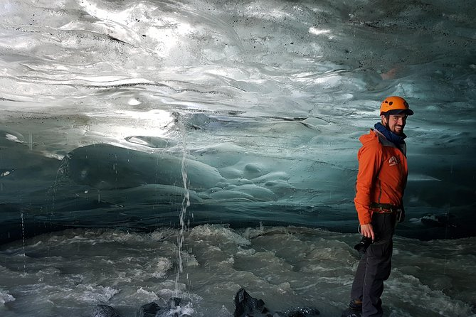 Crystal Ice Cave Adventure