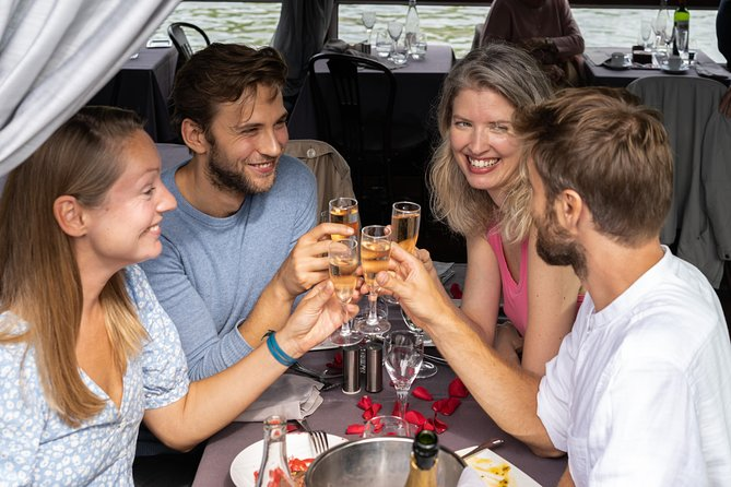 Paris Seine River Lunch Cruise with 3-Course Gourmet Meal