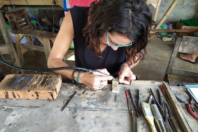 Silver jewelry making class in Gianyar
