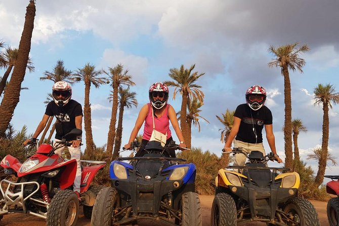 Half day quad and camel ride from Marrakech