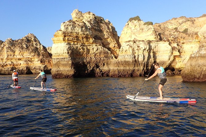 Stand Up Paddle Sunrise tour grottos in Lagos - pick up Lagos area photo 32