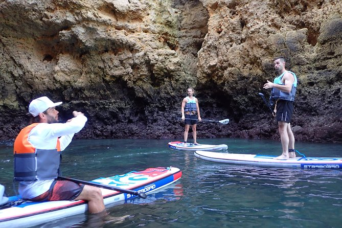 Stand Up Paddle Sunrise tour grottos in Lagos - pick up Lagos area photo 44