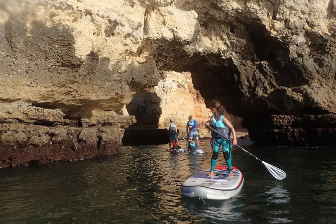 Stand Up Paddle Sunrise tour grottos in Lagos - pick up Lagos area photo 23