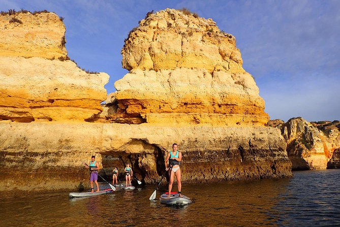 Stand Up Paddle Sunrise tour grottos in Lagos - pick up Lagos area photo 20