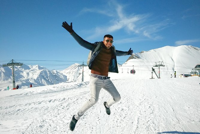 Private Tour in Ski Resort Gudauri