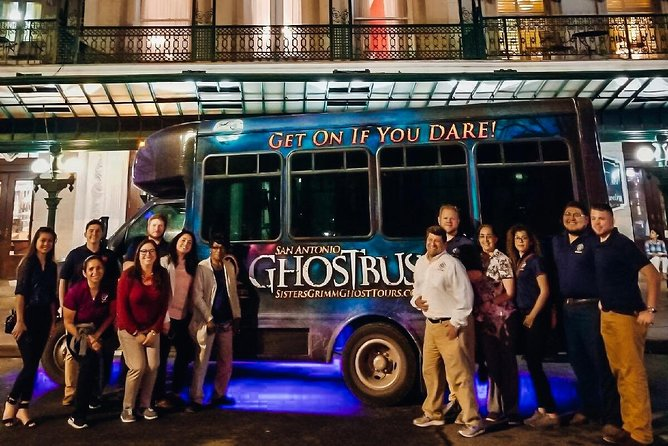 The Haunted Ghost Bus