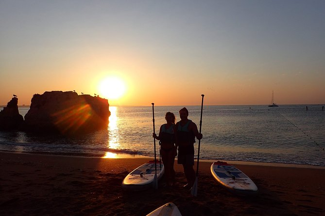 Stand Up Paddle Sunrise tour grottos in Lagos - pick up Lagos area photo 7
