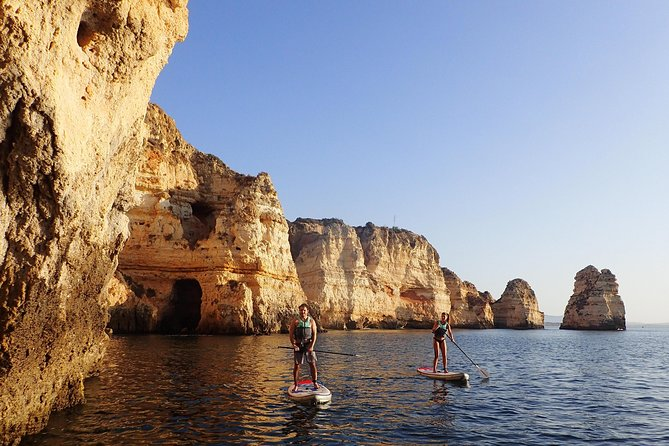 Stand Up Paddle Sunrise tour grottos in Lagos - pick up Lagos area photo 17