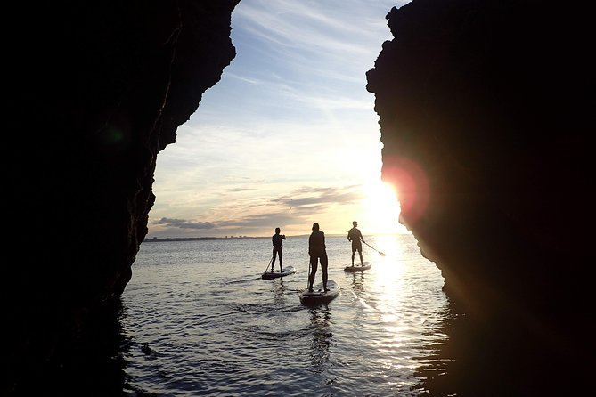 Stand Up Paddle Sunrise tour grottos in Lagos - pick up Lagos area photo 1