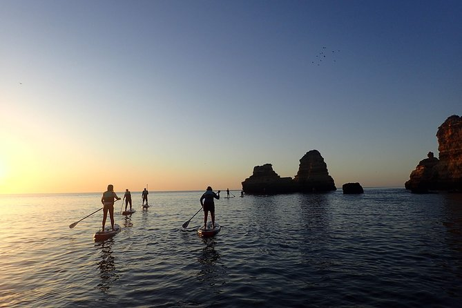 Stand Up Paddle Sunrise tour grottos in Lagos - pick up Lagos area photo 11