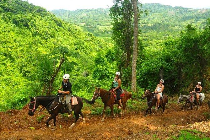 3hrs ATV Plus Horseback Waterfall COMBO Tour
