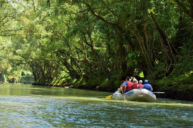 Flotador de Safari del Río Peñas Blancas desde La Fortuna