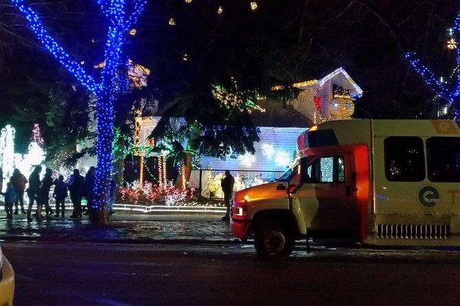 Christmas Lights in Edmonton Tour
