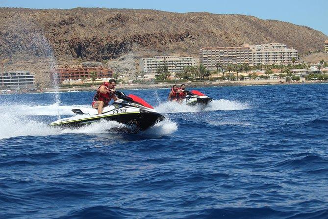 New Jet Ski Safari (1 hour or 2 hours), South Tenerife
