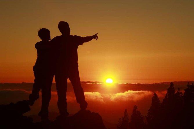 Quad adventure to Teide on sunset