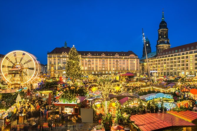 Dresden Christmas Market & Bastei Saxon Switzerland Tour from Prague