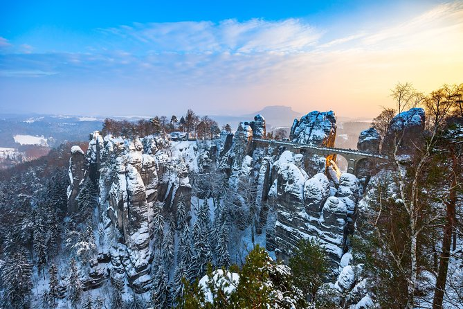 Private Custom Full day tour-Dresden Christmas Market & Bastei Saxon Switzerland