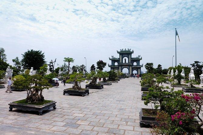 Da Nang to Hue by Car stop visit Linh Ung Pagoda,Via Hai Van Pass,Lang Co beach
