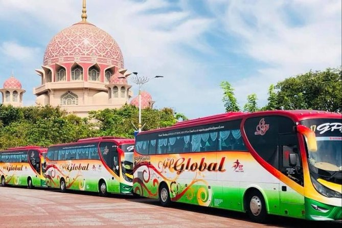 Singapore City Hotels to Kuala Lumpur City Hotels En-route Putrajaya Tour