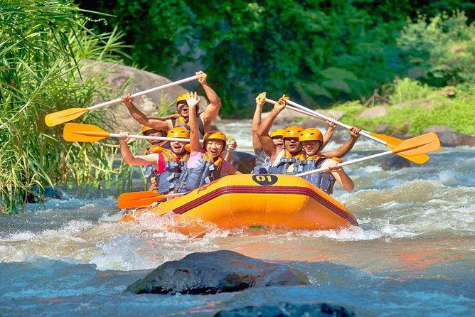Water Rafting 5 km Tour & ATV 1 hour - Real Adventure