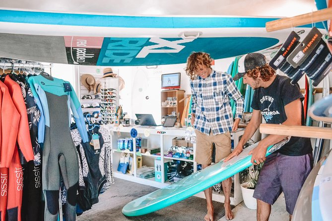 Surfboard, Wetsuit, Paddle-board & Kayak Hire