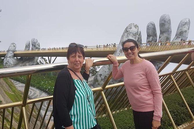 Golden Bridge Ba Na,Cable Car Ride & Hoi An Walking Tour, Night Market,Boat Ride