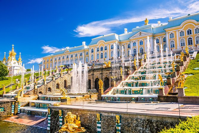 Peterhof Palace Private Tour with Transfer from St. Petersburg