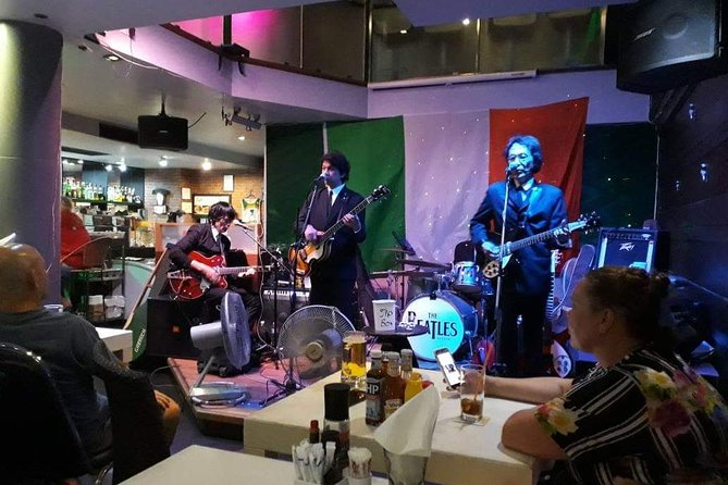 Book a table for 2 or more people to see the Bangkok Beatles live in Hua Hin