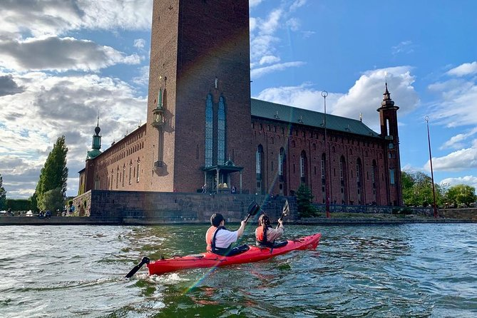 Guided Kayak Tour in Stockholm (City-Tour)