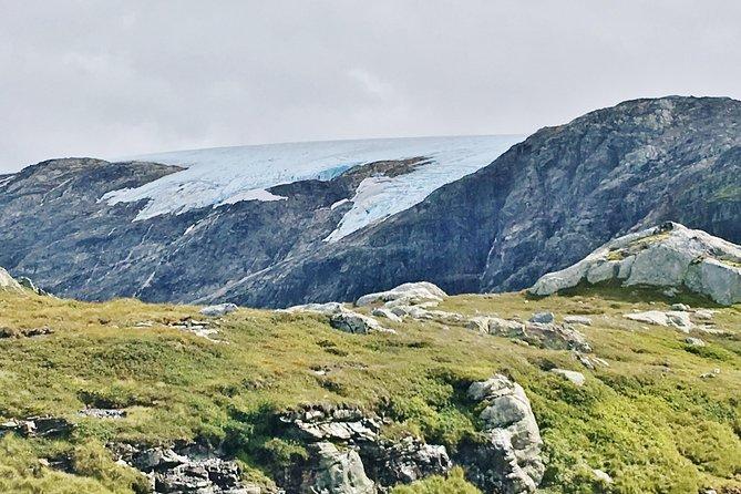 Folgefonna glacier in the distance