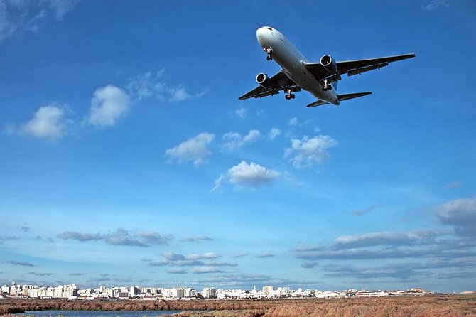 Airport Transfer from Faro to Albufeira