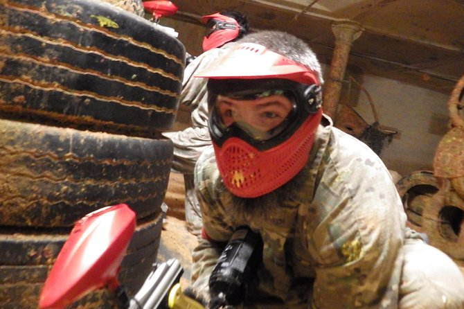 Paintball Ticket including entrance fee and equipment hire