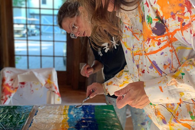 Abstract Palette Knife Painting Class