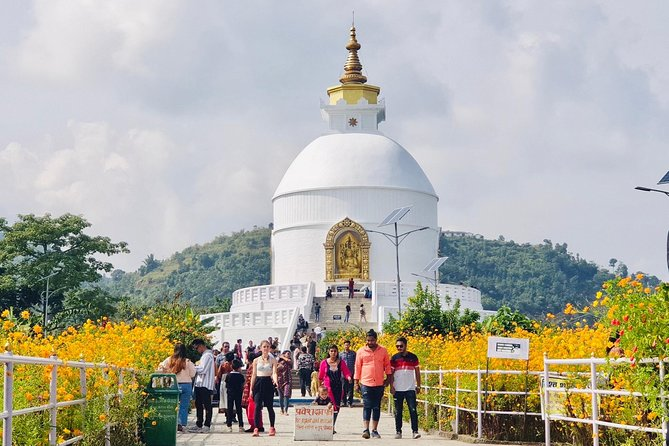 Pokhara: Day Hike From Sarangkot to World Peace Stupa from Lakeside photo 6